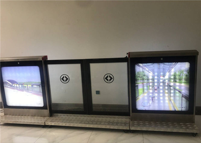 RFID Connector Platform Screen Doors PSC Control For Fast Transportation